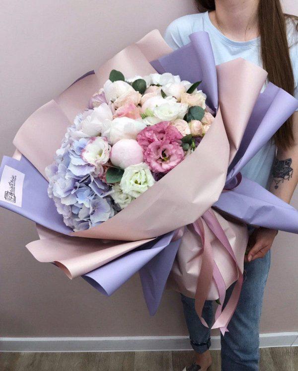 Bukiet w rozmiarze XXL z mixem sezonowych kwiatów