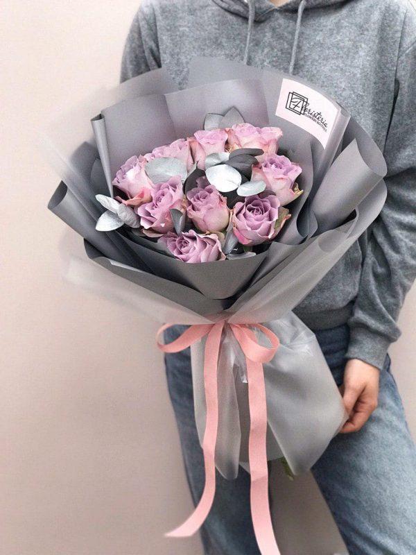 Bukiet z róż odmiany Memory Lane