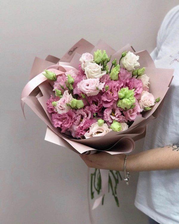 """10 różowych eustom odmiany """"Pink Alissa """""""