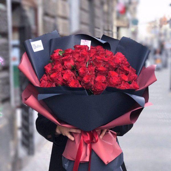 Bukiet z 51 róży