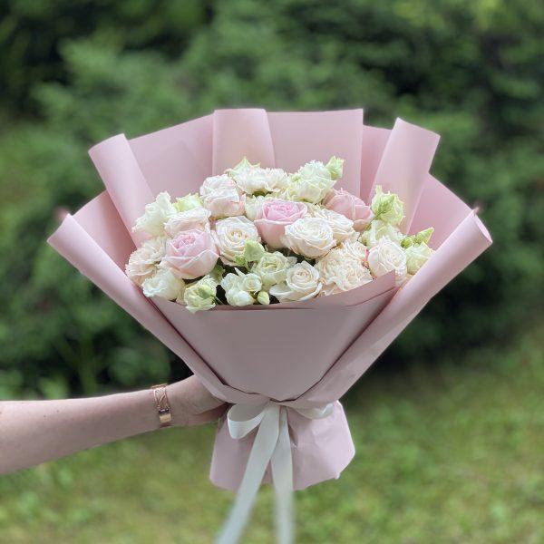 """Bukiet """"Pudrowy róż"""""""