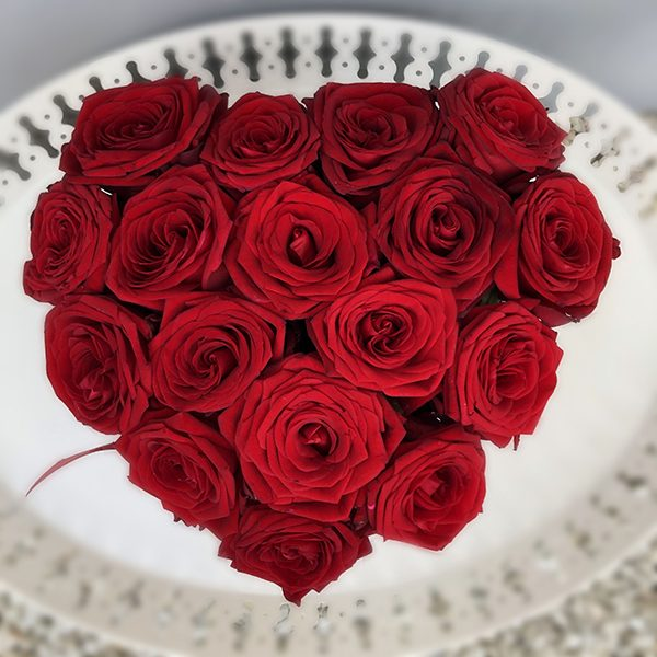 "Flower Box ""Troskliwe serce"""