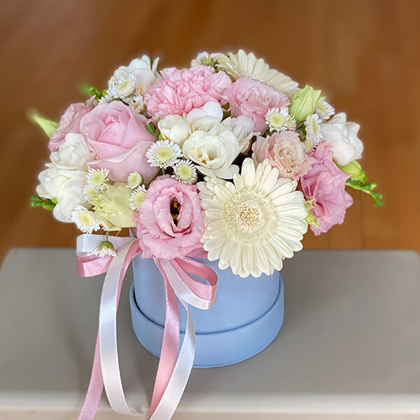 """Flower Box """"Różowa chmurka"""""""