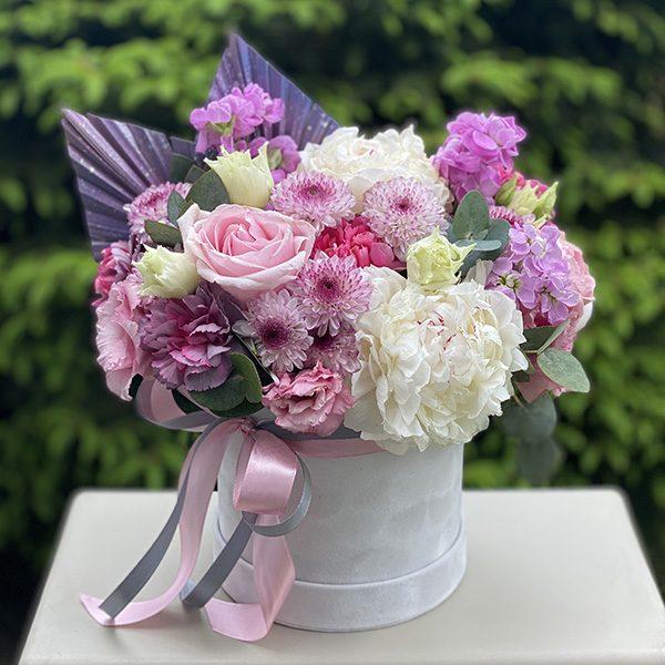 """Flower Box """"Śniadanie u Tiffany'ego"""""""