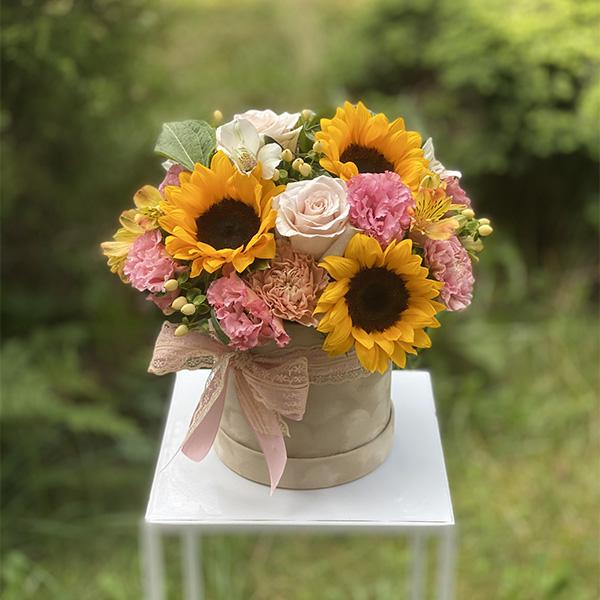 "Flower box ""Wakacje na wsi"""