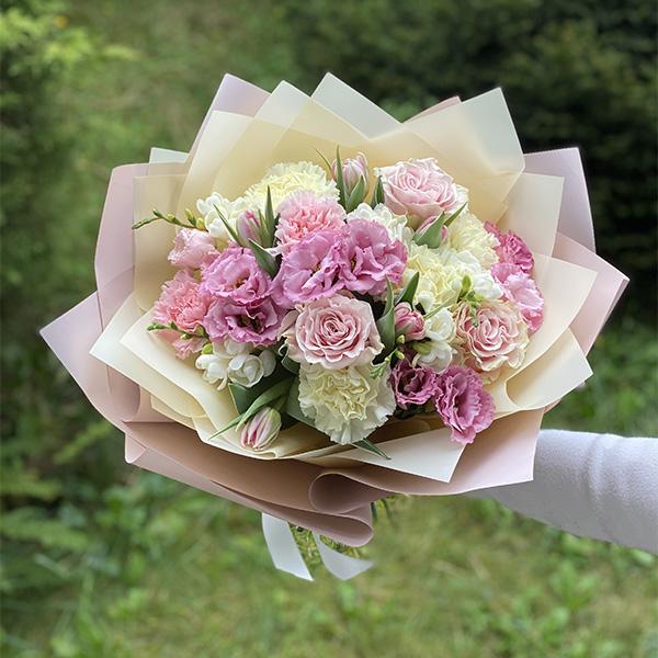 """Bukiet """"Słońce z kwiatów"""""""