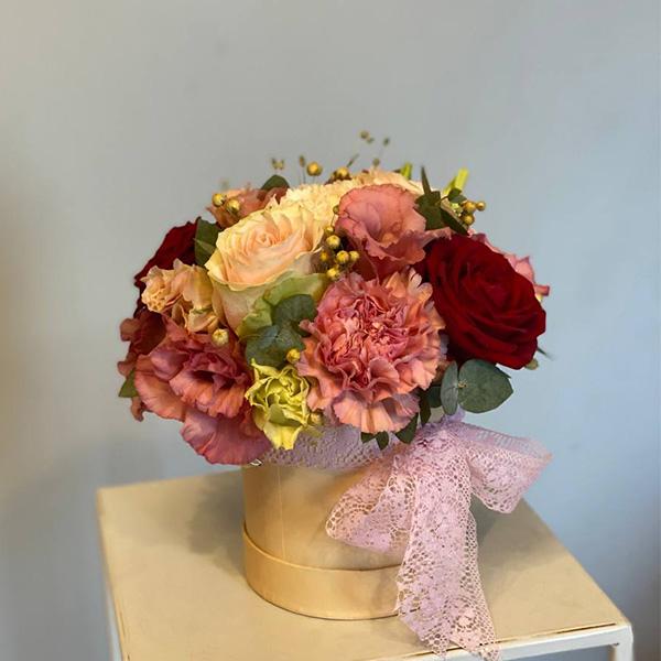 """Flower box """"Rajskie jabłuszko"""""""