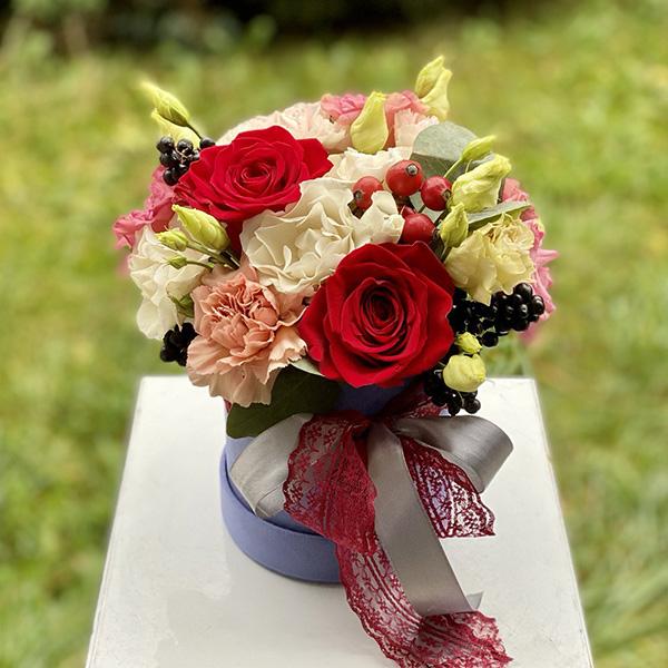 """Flower box """"Słodki listopad"""""""