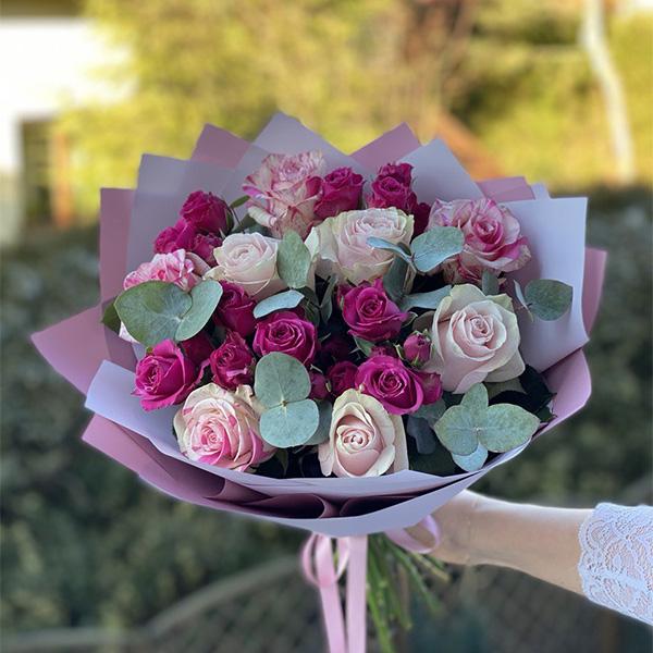 """Bukiet """"Wyłącznie róży"""""""