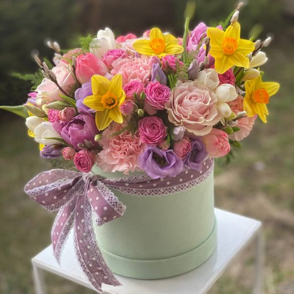 "Flower box ""Wiosna"""