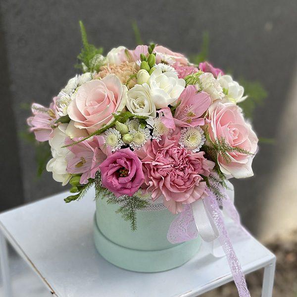 """Flower box """"Poranna rosa"""""""