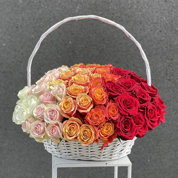 Kosz 90 róż