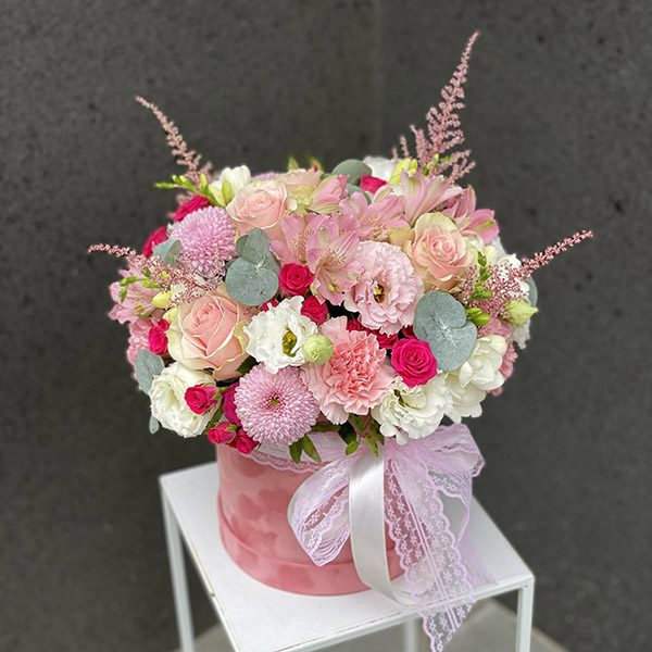"""Flower box """"Świeżość wieczoru"""" rozmiar XL"""