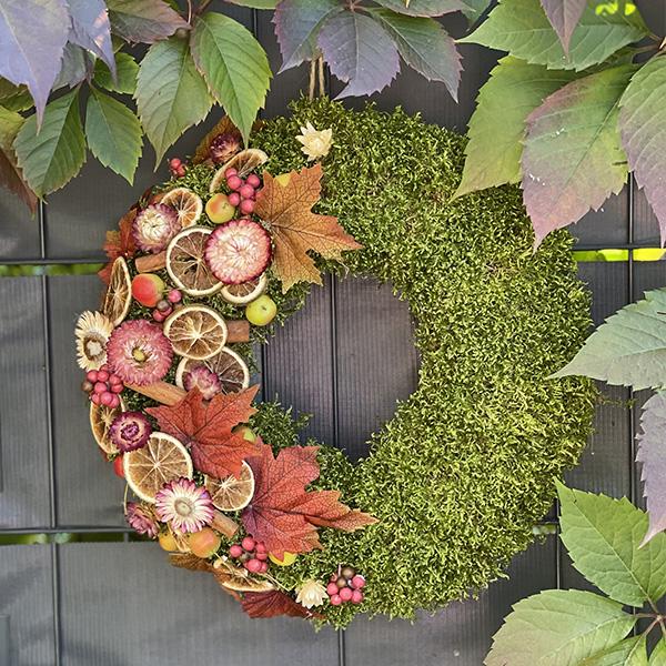 Jesienny wieniec 35 cm